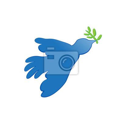 Wall mural peace dove