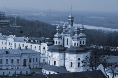 Pechersk Lavra monastery in Kiev