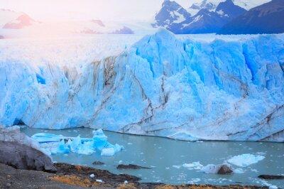 Wall mural Perito Moreno glacier.