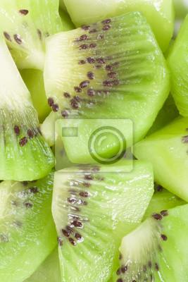 pieces of kiwi