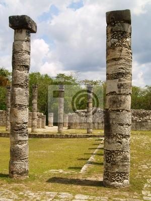 piliers...chichen itza