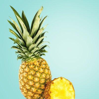 Wall mural Pineapple.