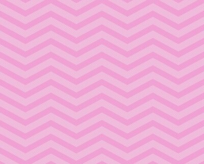 Wall mural Pink Chevron Zigzag Textured Fabric Pattern Background