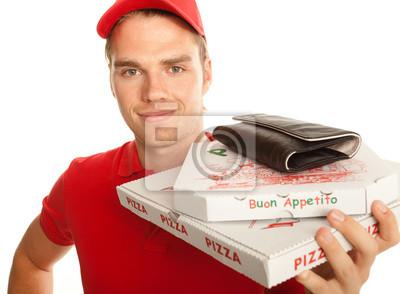 pizza closeup service