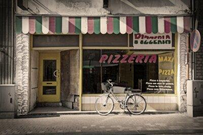 Wall mural pizzeria