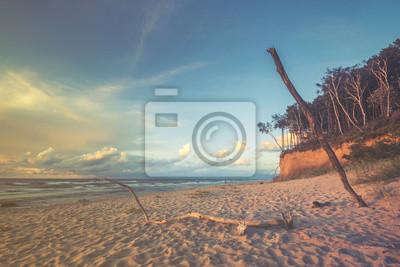 Plaża i klif