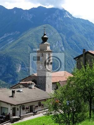 Podenzoi Village Alps Italy