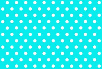 Wall mural Polka dot background.