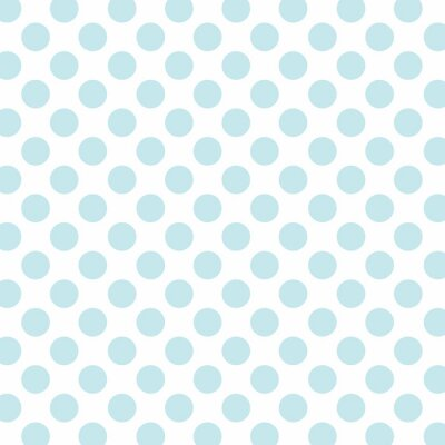 Wall mural Polka dots background with lift tone color dots and white backgr