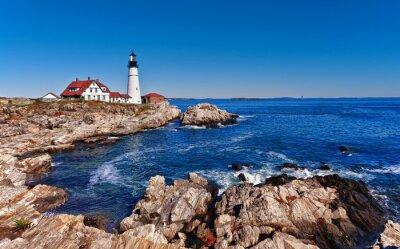 Wall mural Portland Head Lighthouse in Cape Elizabeth, Maine