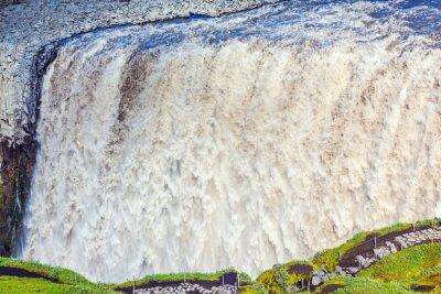 Wall mural Powerful waterfall Dettifoss