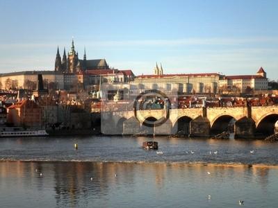 Prague Tourism Bridge