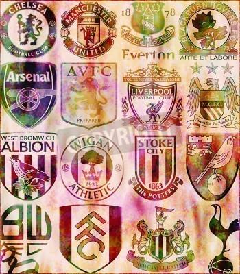 Wall mural Premier League
