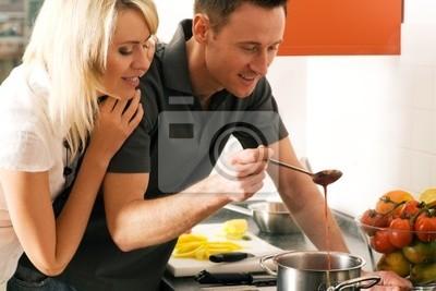 Prepare food together