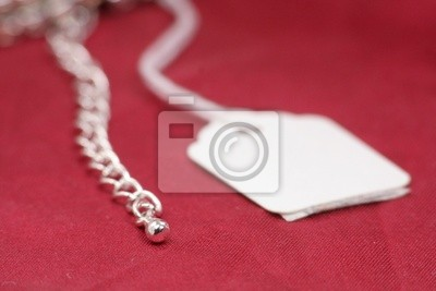 price tag and jewelry