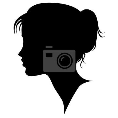 Profilo Donna-Femme Profil-Woman's Profile
