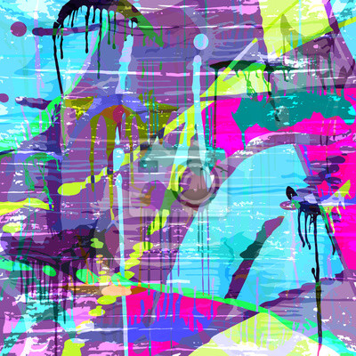 psychedelic graffiti pattern for your design