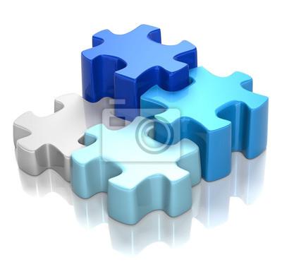 Puzzle Blue Harmony