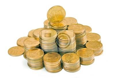 Pyramid of money