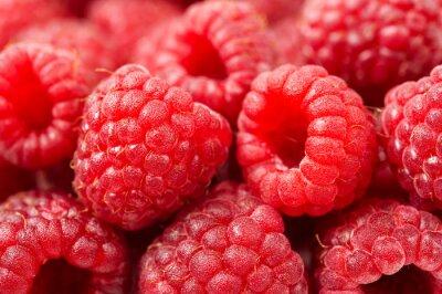 Wall mural Raspberries