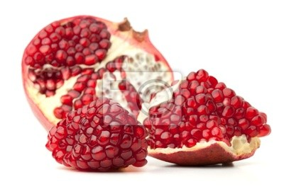 Wall mural Red pomegranate fruit