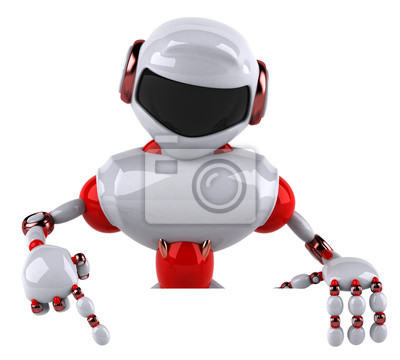 Red robot