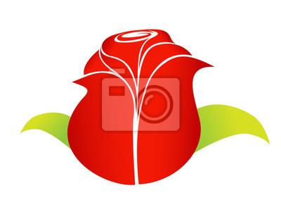 red rose element for design