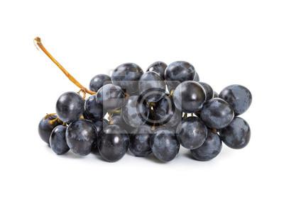 Ripe black grapes