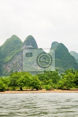 River landscape at china