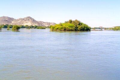Wall mural River Nile near Wadi Halfa in Sudan.