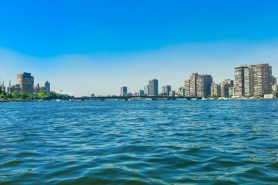 Wall mural River Nile of Cairo