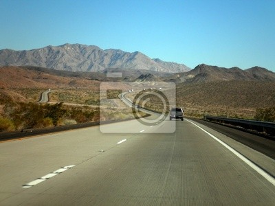 Wall mural Road to Arizona