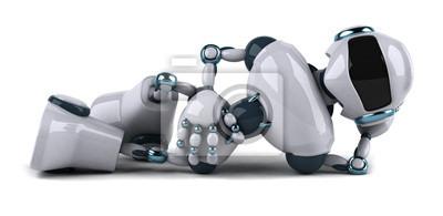 Robot allongé