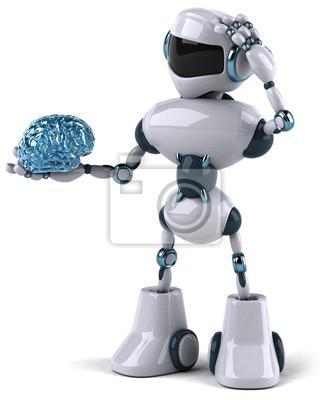 Robot and brain