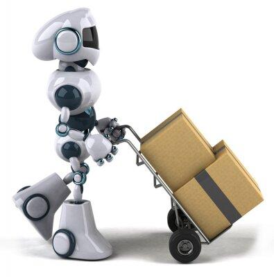 Robot déménage