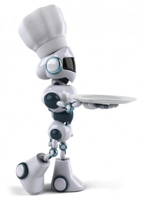 Robot et chef