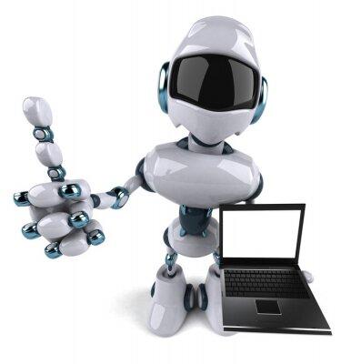 Robot et portable