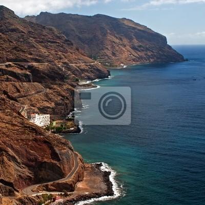 Rocky Shore in Tenerife, Canary