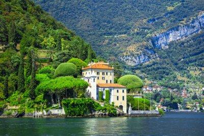 Wall mural romantic Lago di Como, villa del Balbianello