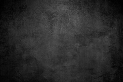 Wall mural Rough Black wall slate texture rough background, dark concrete floor or old grunge background
