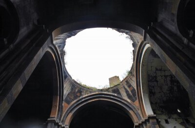 ruiny Ani światło