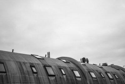 Wall mural Rundes Dach