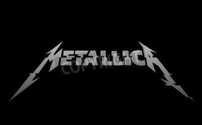 Wall mural RUSSIA - FEBRUARY 09, 2017: Metallica new logo