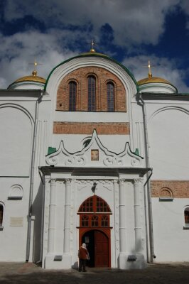 Russian orthodox cathedral in historical Russian town of Chernigov, Ukraine. XII century