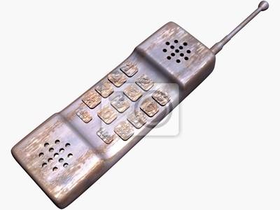 Rusty telephone