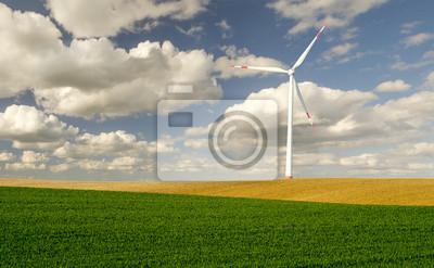 Samotny wiatrak
