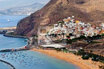 San Andres and Teresitas beach in Tenerife