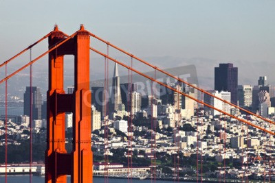 Wall mural San Francisco from San Francisco Headlands