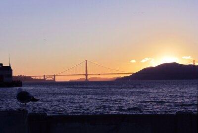 Wall mural San Francisco - Golden Gate