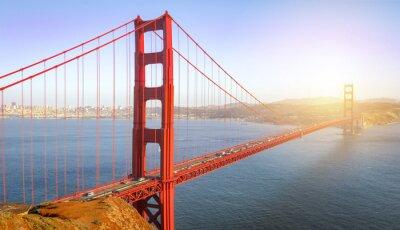 Wall mural San Francisco, Golden Gate Bridge